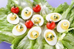 Eggs salad Stock Photo
