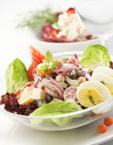 Eggs Salat Stockfoto