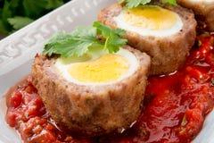 Eggs on Scottish Royalty Free Stock Image