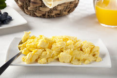 Eggs Scrambled Stock Images