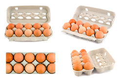 Eggs set Royalty Free Stock Images