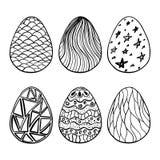 Eggs set Stock Photography