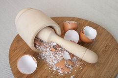 Eggs shell Royalty Free Stock Photos