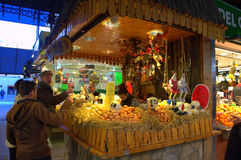Eggs stand,Barcelona Royalty Free Stock Images