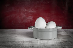 Eggs Still Life Stock Photos