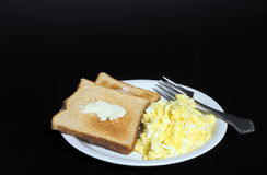 Eggs and Toast Royalty Free Stock Image