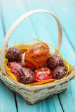 Eggs in the Ukrainian tradition Royalty Free Stock Images