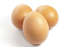 Eggs on White. Eggs on a white background Royalty Free Stock Photo