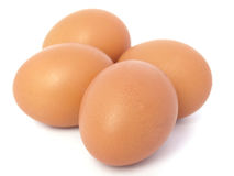 Eggs. On a white background Royalty Free Stock Images