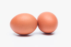 Eggs  on white background. Egg isolated on white background Stock Image