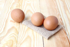 Eggs. On wood pine background.  Are Incredibly Nutritious an Important Nutrient That Most People Don't Get Enough of too much, High in Cholesterol, But They Royalty Free Stock Image