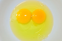 Eggs yolk Royalty Free Stock Photo