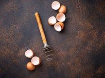 Eggshell и старый год сбора винограда юркнут Стоковая Фотография