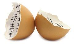 eggshell соединяет 2 Стоковые Фото
