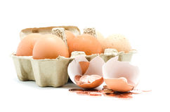 Eggshell Royalty Free Stock Image