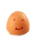 Eggshell smile Royalty Free Stock Photo