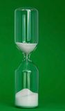 Eggtimer on green Royalty Free Stock Photos