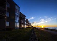 Egholm house Aalborg Denmark vandkunsten Royalty Free Stock Image