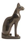 Egipcio Cat Statue Imagen de archivo libre de regalías