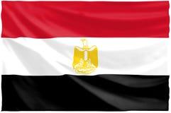 egipcjanin flagę Zdjęcie Stock