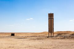 Egipcjanin Pustynne sceny Zdjęcia Stock