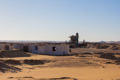 Egipcjanin Pustynne sceny Obrazy Stock