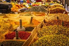 Egipetskom de marché de thés et d'épices à Istanbul photo stock