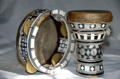 egipscy instrumenty obraz stock