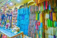 Egipscy klejnoty w małym sklepie w Kair obraz royalty free