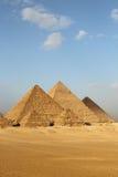 Egipscy ostrosłupy Obraz Stock
