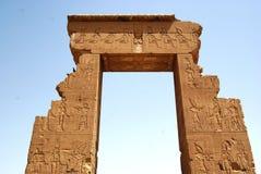 egipska świątynia Fotografia Royalty Free