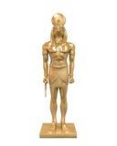Egipska bóg Horus statua Obrazy Royalty Free