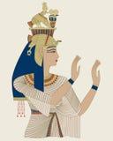 Egipska królowa Taia ilustracji