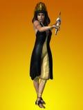 Egipska odzież z tłem zdjęcie royalty free