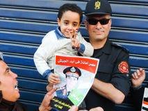 Egipska rewolucja 30 Czerwiec Fotografia Royalty Free