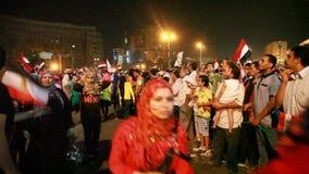Egipska rewolucja 30 Czerwiec zbiory wideo