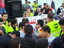 Egipska rewolucja 25 Styczeń Zdjęcie Stock