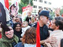 Egipska rewolucja 25 2014 Styczeń Zdjęcia Royalty Free