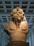 Egipska rzeźba Obrazy Royalty Free