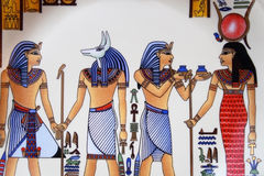 egipska sztuka Fotografia Royalty Free