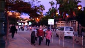 Egipska ulica zbiory wideo