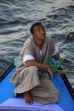 Egipski łódkowaty sprzedawca Fotografia Royalty Free