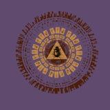 Egipski święty symbol - skarabeusz Zdjęcia Royalty Free