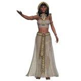 Egipski kobieta ubiór ilustracji
