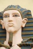 Egipski mężczyzna statuy portret Fotografia Royalty Free