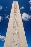Egipski obelisk w centrum Istanbuł Zdjęcia Royalty Free