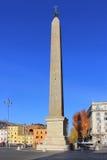 Egipski obelisk w piazza San Giovanni w Laterano w Rzym Fotografia Royalty Free