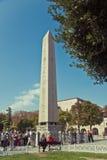 Egipski obelisk w Sultanahmet, Istanbuł, Turcja Zdjęcie Royalty Free