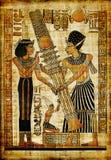 egipski papirus Zdjęcie Royalty Free