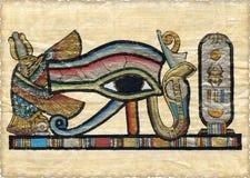 egipski papirus piękna Obrazy Royalty Free